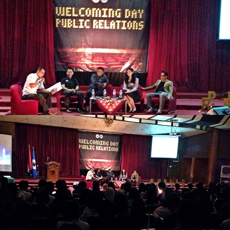 Welcoming Day Public Relation Unisba